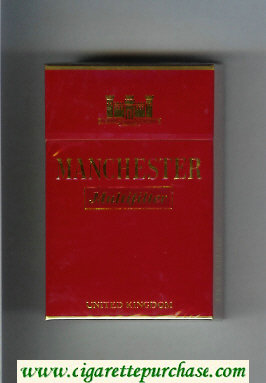 Manchester Multifilter cigarettes hard box
