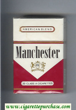 Manchester PH Oscar American Blend cigarettes hard box