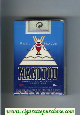 Manitou Full Flavor cigarettes soft box