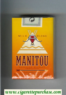 Manitou Mild Blend cigarettes soft box