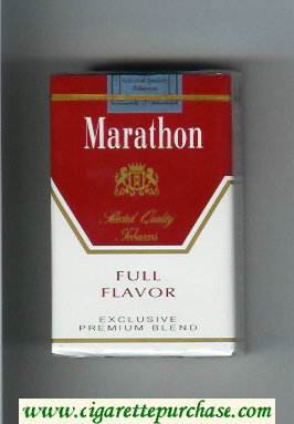 Marathon Full Flavor Exclusive Premium Blend cigarettes soft box