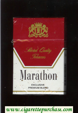 Discount Marathon Exclusive Premium Blend cigarettes hard box