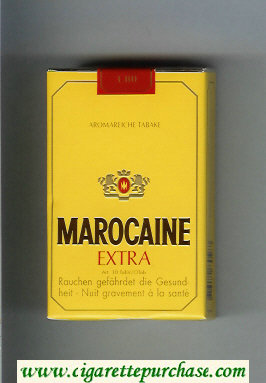 Marocaine Extra Aromareiche Tabake cigarettes soft box