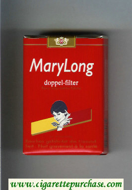 MaryLong Doppel - Filter cigarettes soft box
