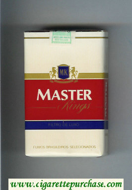 Master Kings Filtro De Luxo cigarettes soft box