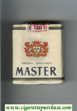 Master Virginia Americanos cigarettes soft box