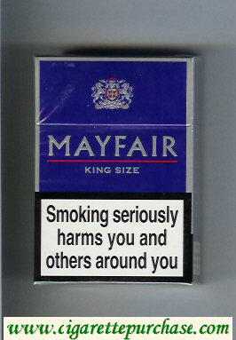 Mayfair King Size cigarettes hard box