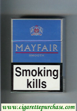 Mayfair Smooth cigarettes hard box