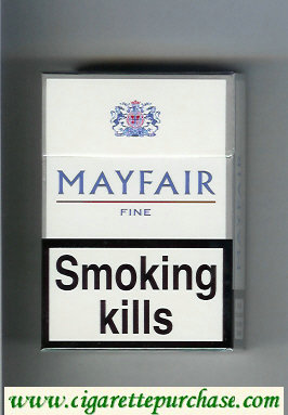 Mayfair Fine cigarettes hard box