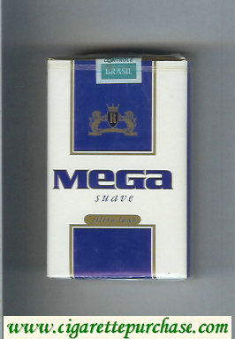 Mega Suave cigarettes soft box