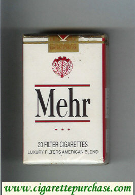 Mehr white cigarettes soft box