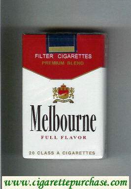 Melbourne Premium Blend Full Flavor cigarettes soft box