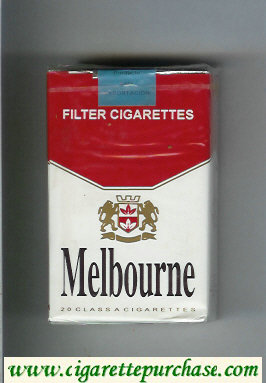 Melbourne cigarettes soft box