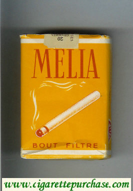 Melia Bout Filtre cigarettes soft box