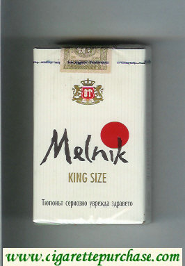 Melnik King Size cigarettes soft box