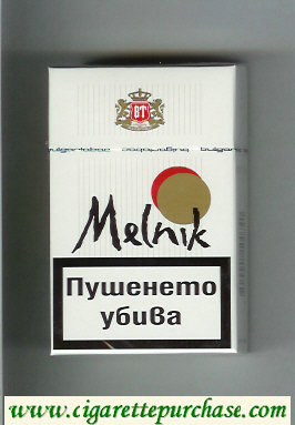 Melnik cigarettes hard box