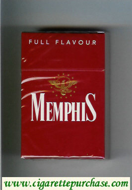 Memphis Full Flavour cigarettes hard box