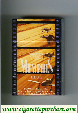 Memphis hard box Blue cigarettes