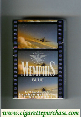 Memphis hard box cigarettes Blue
