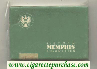 Memphis 25 Stuck cigarettes hard box