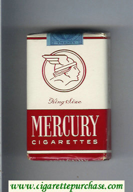 Mercury cigarettes soft box