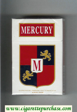 Mercury cigarettes hard box