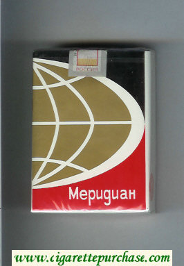Meridian T cigarettes soft box