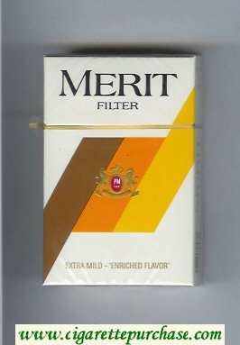 Discount Merit Filter cigarettes hard box