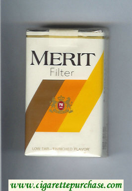 Discount Merit Filter cigarettes soft box
