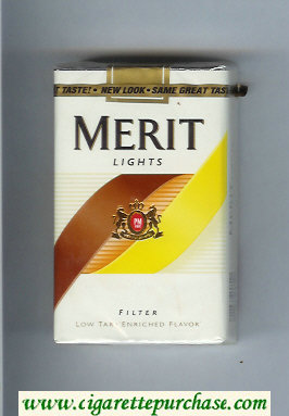 Discount Merit Lights cigarettes soft box