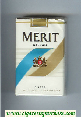 Merit Ultima Filter cigarettes soft box
