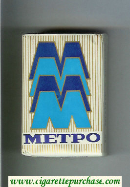 Metro T cigarettes soft box