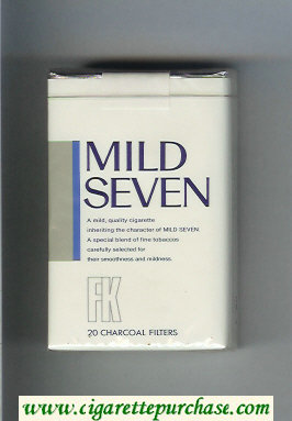 Mild Seven FK cigarettes soft box