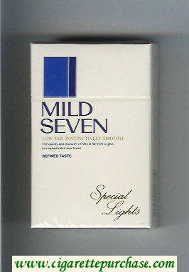 Mild Seven Special Lights cigarettes hard box