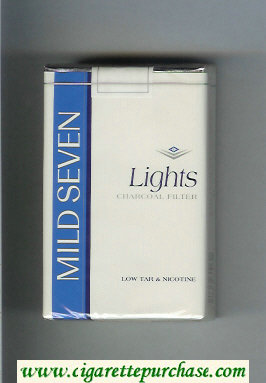 Mild Seven Lights cigarettes soft box