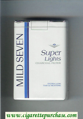 Mild Seven Super Lights cigarettes soft box
