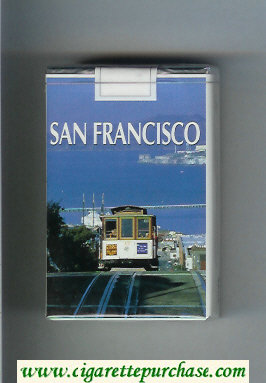 Mild Seven San Francisco cigarettes soft box