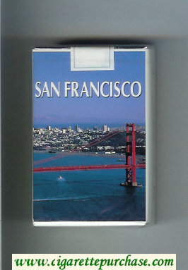 Mild Seven San Francisco Lights cigarettes soft box