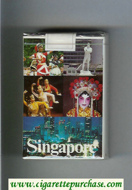 Mild Seven Singapore cigarettes soft box