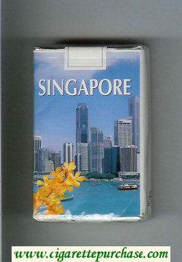 Mild Seven Singapore Lights cigarettes soft box