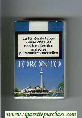 Mild Seven Toronto Lights cigarettes soft box