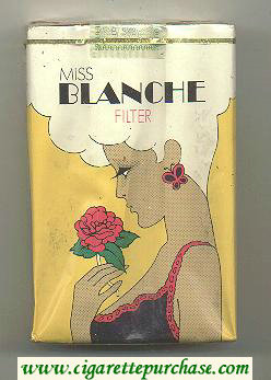 Miss Blanche 25s 100 cigarettes soft box
