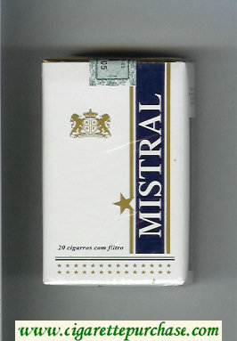 Mistral cigarettes soft box