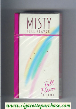 Discount Misty Full Flavor 100s cigarettes hard box