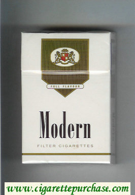 Modern Full Flavour Filter cigarettes hard box