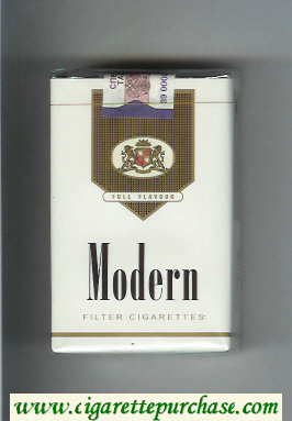 Modern Full Flavour Filter cigarettes soft box