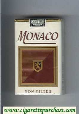 Monaco Non-Filter Cigarettes soft box