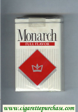 Monarch Full Flavor cigarettes soft box