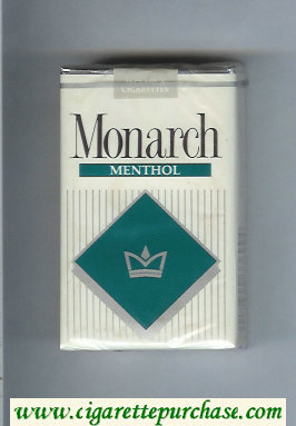 Monarch Menthol cigarettes soft box