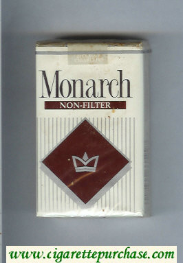Monarch Non-Filter cigarettes soft box